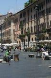 意大利navona广场罗马 免版税图库摄影