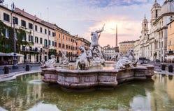 意大利navona广场罗马 免版税库存图片