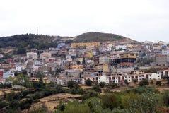 意大利orgosolo撒丁岛 库存照片