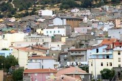 意大利orgosolo撒丁岛 免版税图库摄影
