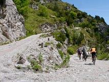 意大利Passo di Tremalzo 免版税库存图片