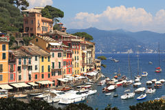 意大利portofino视图 库存图片