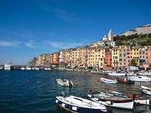 意大利portovenere 免版税库存图片