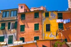 意大利portovenere 免版税图库摄影