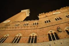 意大利siena托斯卡纳 新生和中世纪建筑学 图库摄影