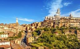 意大利siena托斯卡纳 免版税库存图片