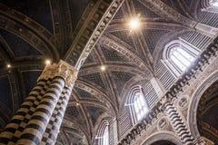 意大利siena 免版税库存照片