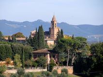 意大利siena 免版税图库摄影