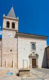 意大利spello 圣塔玛丽亚Maggiore教会 图库摄影