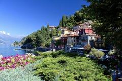 意大利varenna 免版税库存图片
