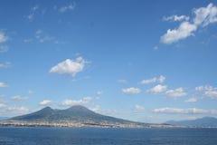 意大利vesuvius火山 库存图片