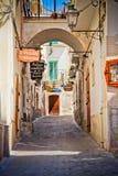 意大利vieste 库存照片