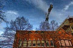 任意大厦在阿什维尔,北卡罗来纳,美国 库存照片