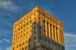 任意大厦在阿什维尔,北卡罗来纳,美国 免版税图库摄影