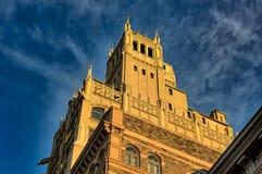 任意大厦在阿什维尔,北卡罗来纳,美国 免版税库存照片
