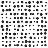 任意小点,雪,斑点传染媒介标志象设计 免版税库存照片