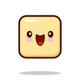 意思号,象, emoji隔绝在白色背景 也corel凹道例证向量 免版税图库摄影