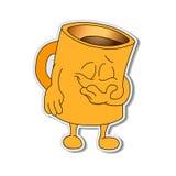 意思号 Emoji 微笑象 例证 免版税库存照片