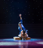 意想不到的宜人的惊奇玩偶现代舞蹈 免版税库存图片