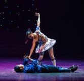 意想不到的宜人的惊奇玩偶现代舞蹈 免版税库存照片