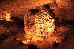 意想不到的洞穴 图库摄影