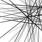 任意混乱锋利线 抽象几何纹理 向量例证