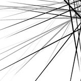 任意混乱锋利线 抽象几何纹理 库存例证