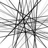 任意混乱锋利线 抽象几何纹理 皇族释放例证