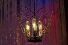 任意灯具在阿什维尔,北卡罗来纳,美国 库存照片