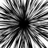 任意被变形的形状概略,锋利纹理) 黑色白色 向量例证