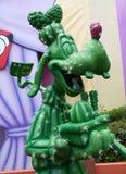 愚蠢的雕象 免版税库存照片