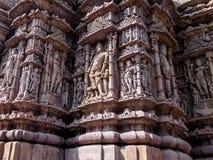 感受印度文化低谷纯净的艺术 库存图片