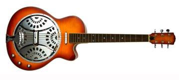感声吉他琴吉他幻灯片 免版税库存图片