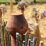 感恩天:玉米装饰-储蓄照片 免版税图库摄影