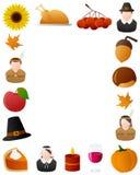 感恩照片框架[6] 免版税库存照片