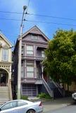 感恩的死的议院, 710 Ashbury,旧金山 库存图片