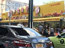 感恩超级市场在唐人街NYC 图库摄影