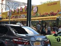 感恩超级市场在唐人街NYC 免版税库存图片