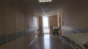 感觉的作用不适在医院走廊 视觉幻觉 股票录像
