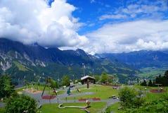 感觉的山在阿尔卑斯山的 免版税图库摄影