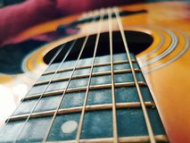 感觉音乐内 库存图片