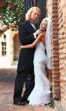 感兴趣的婚姻 免版税库存照片