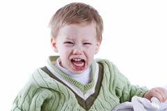 愤怒小孩 库存照片