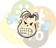 愤怒的乐趣 免版税库存图片