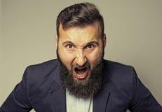 愤怒的概念 免版税图库摄影