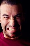 愤怒的男性人 图库摄影