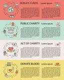 慈善和捐赠 免版税库存图片