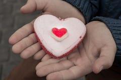 慈善心脏 免版税库存照片
