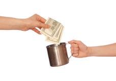 慈善 免版税库存图片