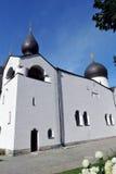 慈悲Marfo-Mariinsky女修道院在莫斯科 免版税库存照片